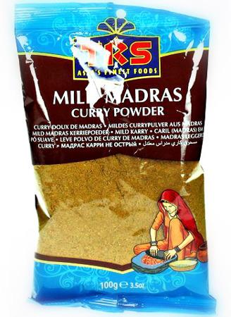 Curry Madras łagodne 100g - TRS