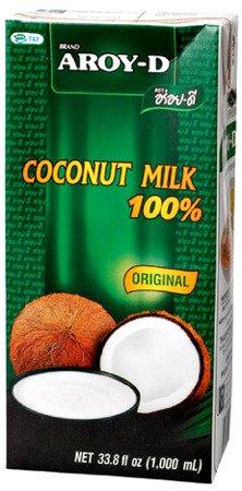 Mleko kokosowe 1L w kartonie - Aroy-D