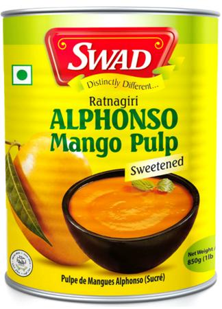 Przecier, pulpa z mango Alphonso 450g - SWAD