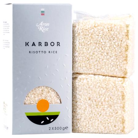 Ryż biały Karbor do risotto 1kg - Aron Rice