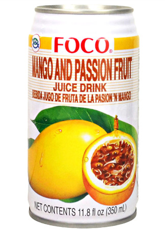 Sok z owoców mango i marakui 350ml - Foco