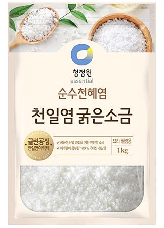 Sól morska do kimchi, gruby kryształ 1kg - CJO Essential