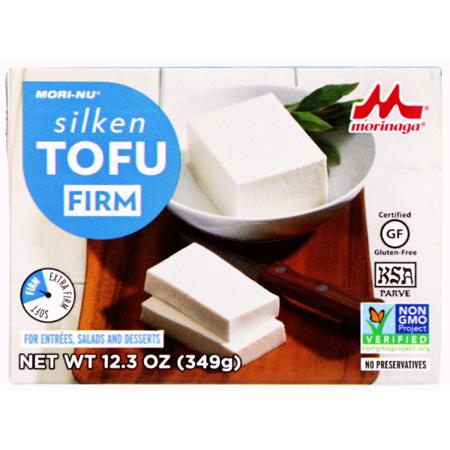 Tofu jedwabiste niebieskie (twarde) 349g - Mori-Nu