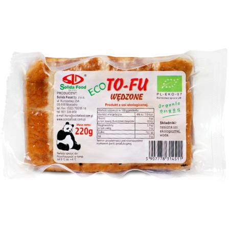 Tofu wędzone, ekologiczne 220g - Solida Food